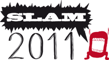Slam 2011 logo - Quelle: http://www.slam2011.de/
